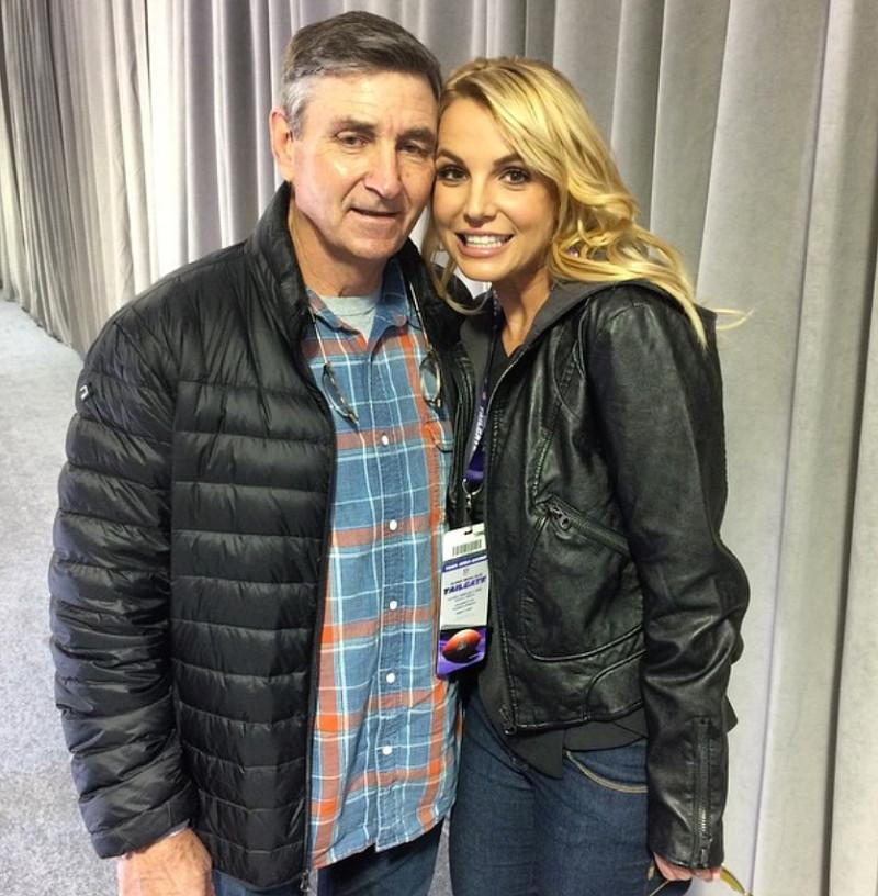BritneySpearsfather, bố của britney spear
