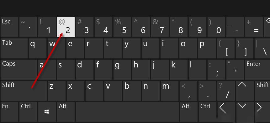 cách viết chữ a còng trên máy tính