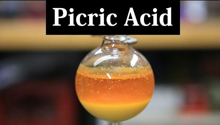 axit picric, điều chế axit picric