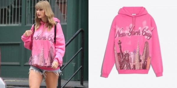 hoodie của Taylor Swift, balenciaga