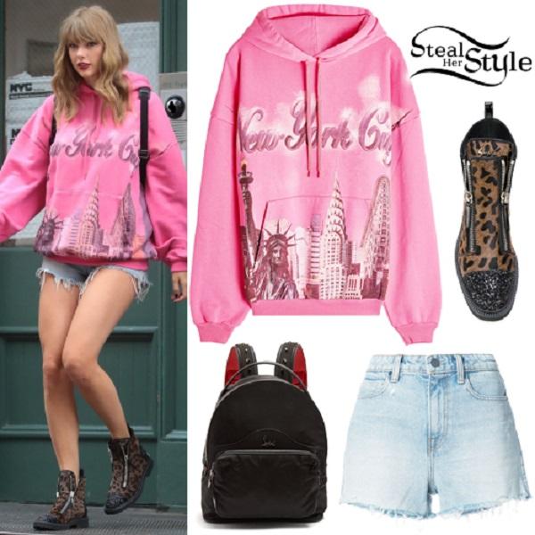 bộ đồ mới nhất Taylor Swift 2018