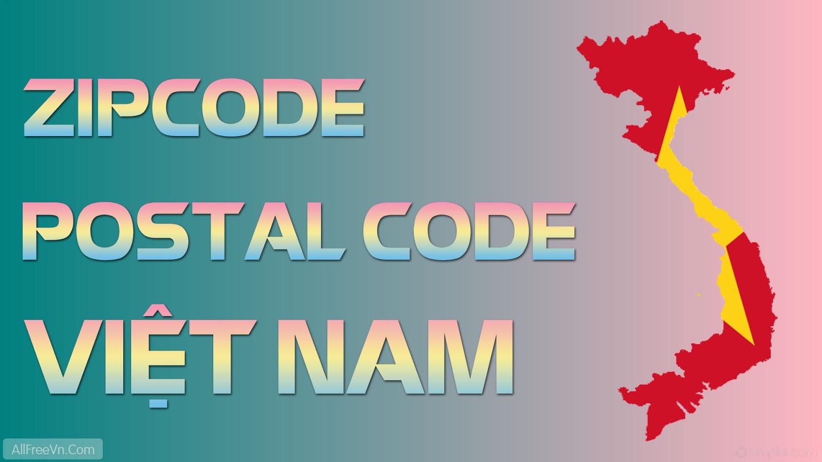 zip code, zip code viet nam la bao nhieu