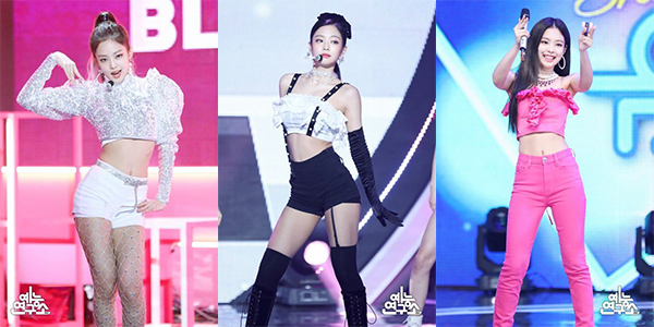 Idol Kpop mặc gợi cảm