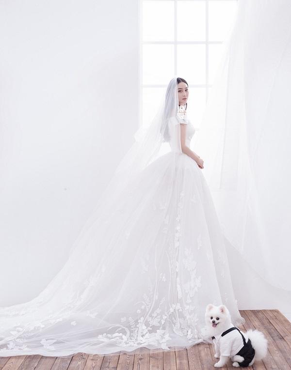 ảnh cưới của Trương Hinh Dư