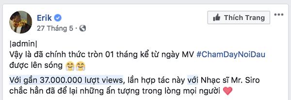 Vpop 2018: Sơn Tùng M-TP trượt MV có lượt xem tăng nhanh nhất trong một tháng đầu tiên