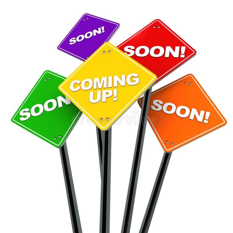 coming soon là gì coming up là gì